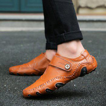Autumn Men'S Casual Driving Shoes - BROWN BROWN