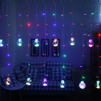 Wishing Balls LED Curtain Fairy Tale String Lights 220V Romantic Xmas Wedding Party Decoration Lights -  COLORFUL