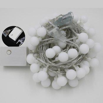 10M 100 LEDs Decorative String Light Round Ball Shaped Holiday Party Light -  COLORFUL
