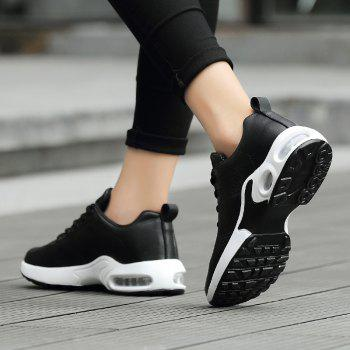 Fashion Sport Wind Comfortable Durable Shoes - BLACK 35