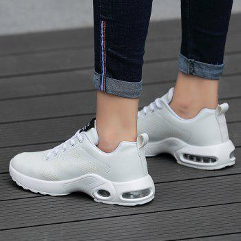 Fashion Sport Wind Comfortable Durable Shoes - WHITE 38