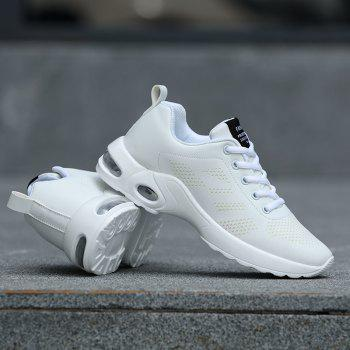 Fashion Sport Wind Comfortable Durable Shoes - WHITE 35