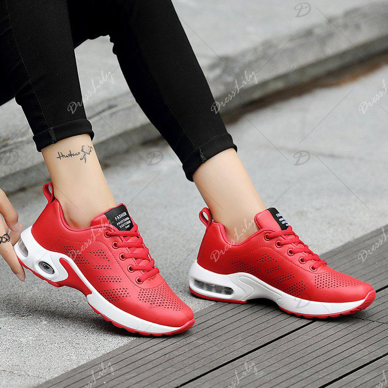 2018 Fashion Sport Wind Comfortable Durable Shoes RED In Sneakers Online Store. Best Black Flat ...