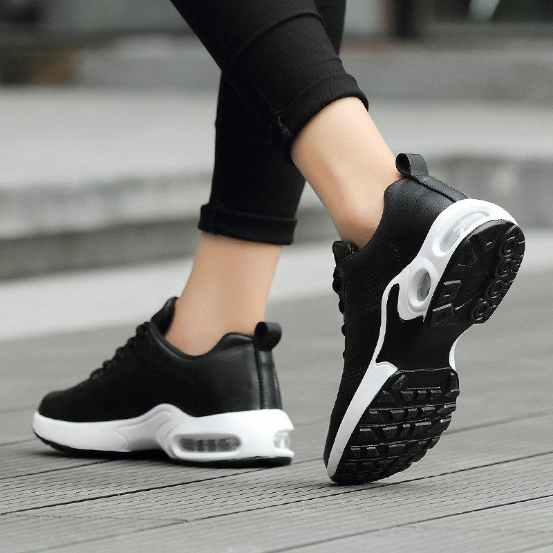 Fashion Sport Wind Comfortable Durable Shoes - BLACK 36