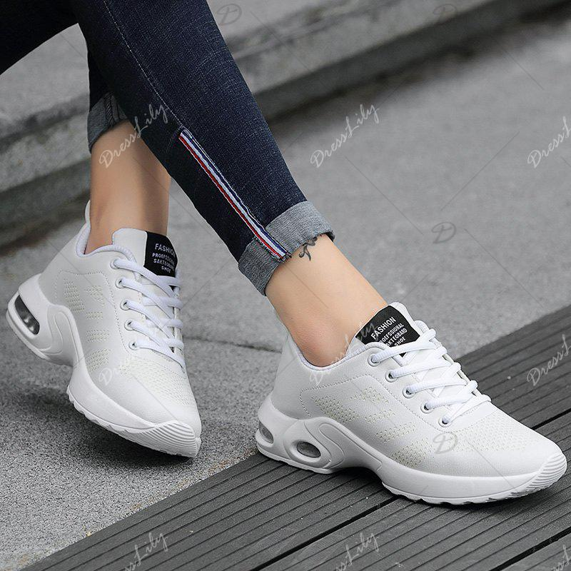Fashion Sport Wind Comfortable Durable Shoes - WHITE 37