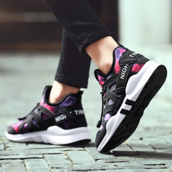 Fashion Leisure Folding Soft Breathable and Comfortable Sports Shoes - SANGRIA SANGRIA