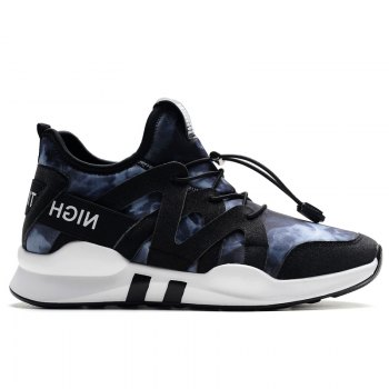 Fashion Leisure Folding Soft Breathable and Comfortable Sports Shoes - BLUE 37
