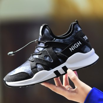 Fashion Leisure Folding Soft Breathable and Comfortable Sports Shoes - BLUE 38