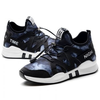 Fashion Leisure Folding Soft Breathable and Comfortable Sports Shoes - BLUE 36