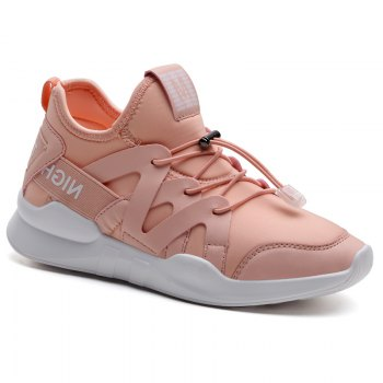 Fashion Leisure Folding Soft Breathable and Comfortable Sports Shoes - PINK PINK