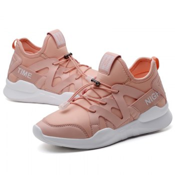 Fashion Leisure Folding Soft Breathable and Comfortable Sports Shoes - PINK 40