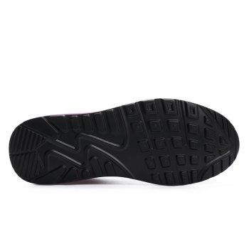 All-Match Leisure Breathable Soft and Comfortable Shoes Net - BLACK A 37