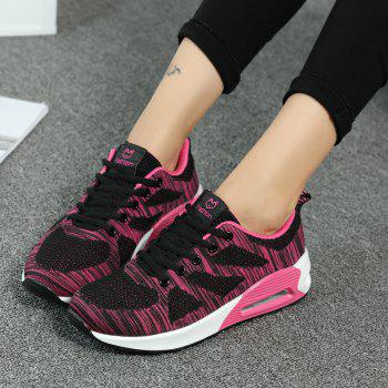 All-Match Leisure Breathable Soft and Comfortable Shoes Net - BLACK B 37