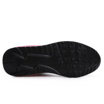 All-Match Leisure Breathable Soft and Comfortable Shoes Net - BLACK B 35