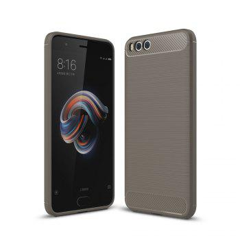 Shockproof Back Cover Solid Color Soft Carbon Fiber Case for Huawei Xiaomi Note 3 - GRAY GRAY
