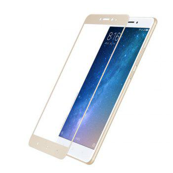 XY08 Full Coverage Dot with Explosion-proof Glue Mobile Phone Toughened Glass Film for XIAOMI MAX 2 -  GOLDEN