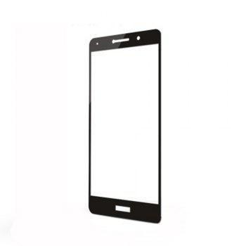 XY09 Mobile Phone Full Screen Covered with Toughened Glass Film for HUAWEI Glory 6X - BLACK BLACK