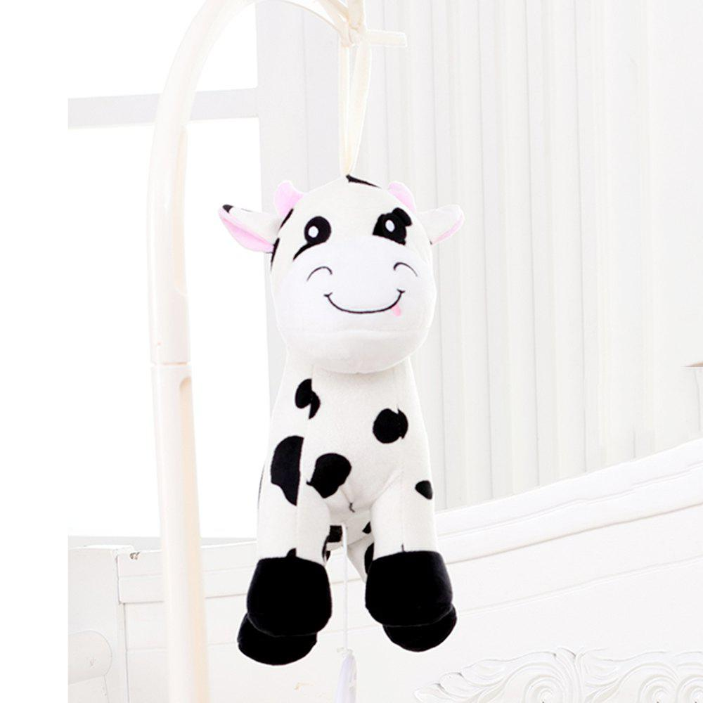 Super Cute Cow Music Box with Bell - BLACK WHITE