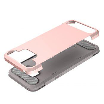 Anti-slip Heavy-duty Carbon Fiber Case Cover for Samsung Galaxy S8 Plus - PINK