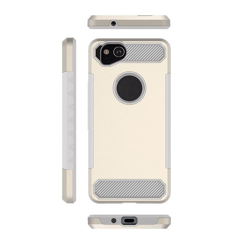 Anti-slip Heavy-duty Carbon Fiber Case Cover for Google Pixel 2 - PALOMINO