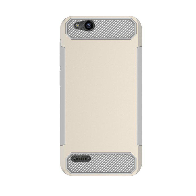 Anti-slip Carbon Fiber Case Cover for ZTE Tempo X N9137 - PALOMINO