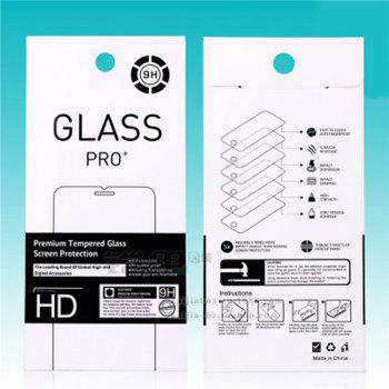 HD Mobile Phone Protective Film Scratch HD Tape Packaging for Samsung S7 - TRANSPARENT