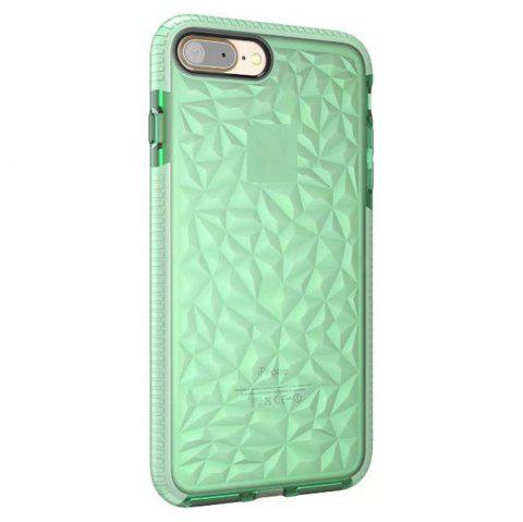Diamond Grain Soft Shell Mobile Phone Protection Case for IPhone 8 Plus / 7 Plus - GREEN