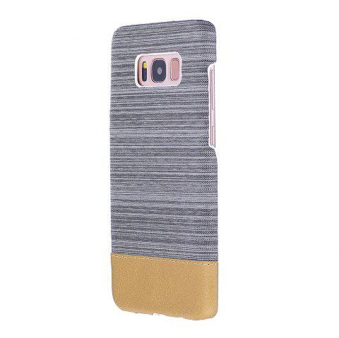 For Samsung Galaxy S8 Canvas Cases Hitting Scene Phone Back Shell - GRAY