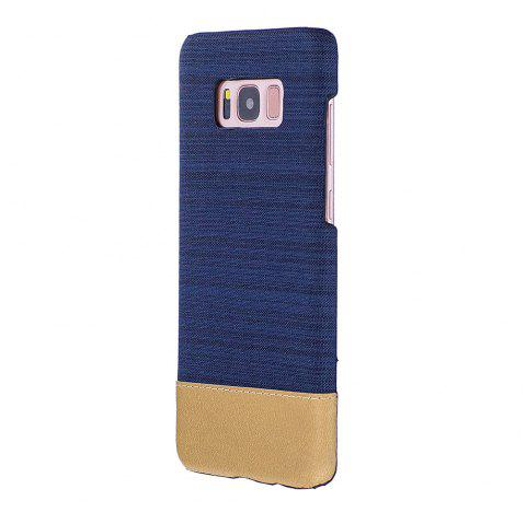 For Samsung Galaxy S8 Canvas Cases Hitting Scene Phone Back Shell - DEEP BLUE