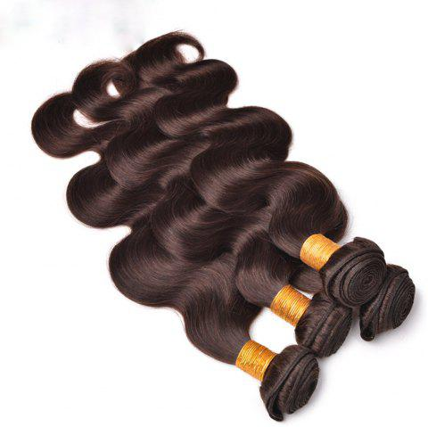 Brazilian 100 Human Hair Remy Extension Weaving 10 - 28inch - BROWN 14INCH