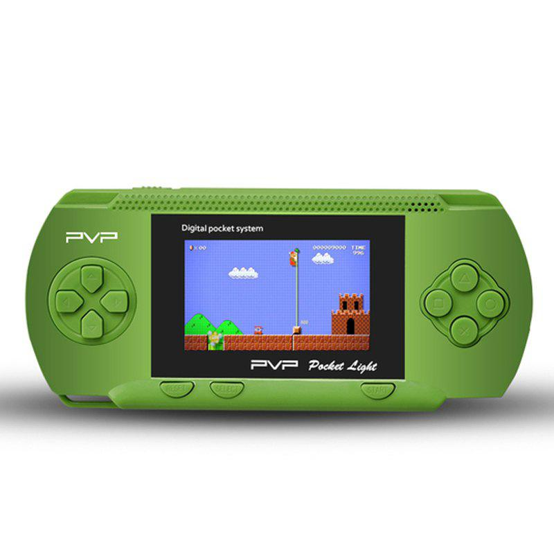 Great Gift for Christmas PVP3000 2.8 Inch Game Console Great Gift for Family and Friends - GREEN