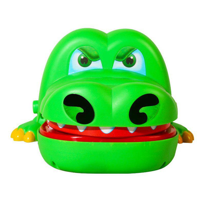 Big Mouth Crocodile Toy Gags Joke Dentist Bite Finger Game For Children Kids Funny Gift (Size: random color) bigger size soaked absorbent toy growing animals funny kids swell toy sea