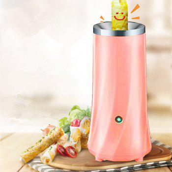 Egg Roll Breakfast Machine Hands-Free Automatic Electric Vertical Nonstick Easy Quick Egg Cooker - PINK PINK