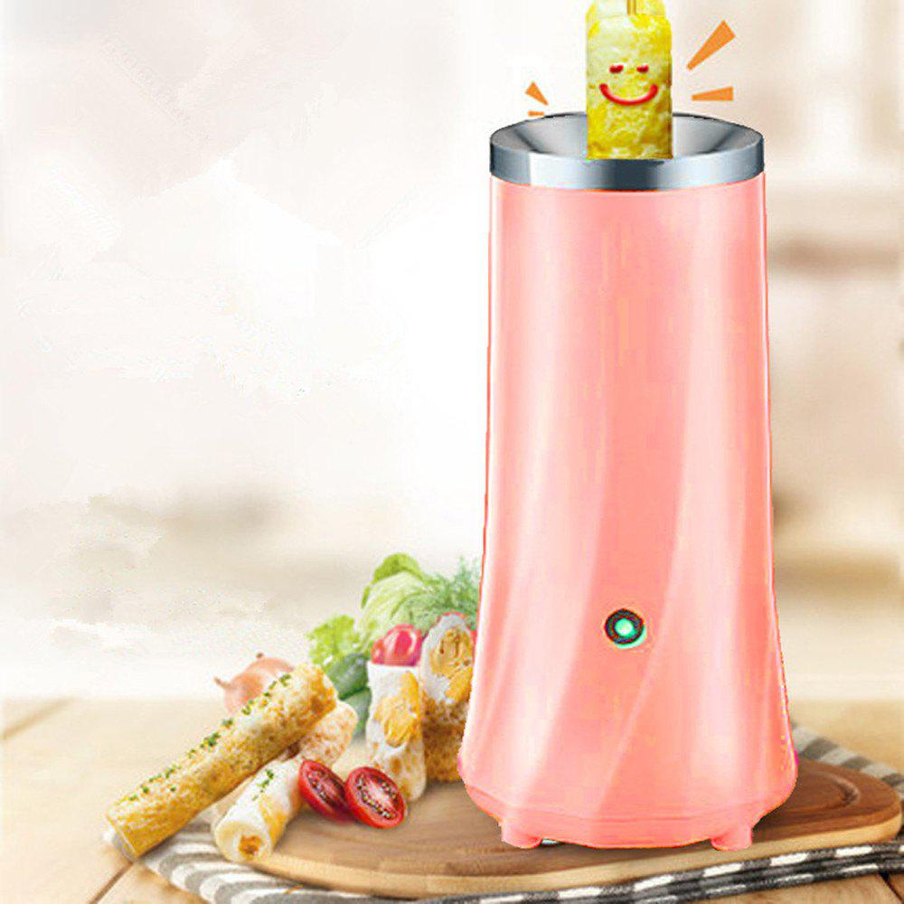 Egg Roll Breakfast Machine Hands-Free Automatic Electric Vertical Nonstick Easy Quick Egg Cooker - PINK