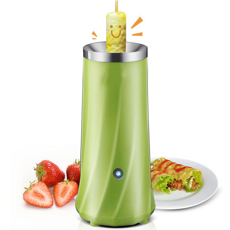 Egg Roll Breakfast Machine Hands-Free Automatic Electric Vertical Nonstick Easy Quick Egg Cooker - GREEN