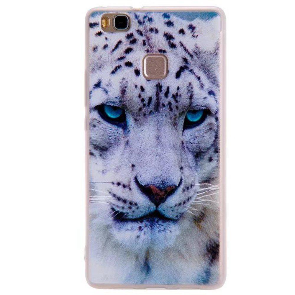 Color Pattern Soft TPU Back Phone Case Huawei G9 - WHITE