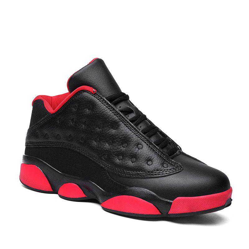 Autumn and Winter High Fashion Wear Resistant Men'S Basketball Shoes - BLACK 40