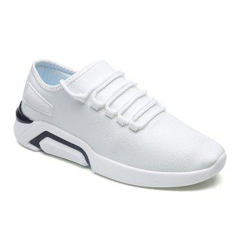 Autumn Increased Running Sports Men'S Shoes - WHITE WHITE