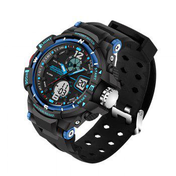 SANDA Large 5319 Fashion Outdoor Sports Men Watch Luminous Watch with Box -  BLUE