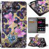 Explosions 3D Painted PU Phone Case for HUAWEI P9 Lite - BLACK / PINK