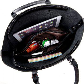 Luxury Ladies Handbag Fashion Hot Shoulder Messenger Bag - BLACK