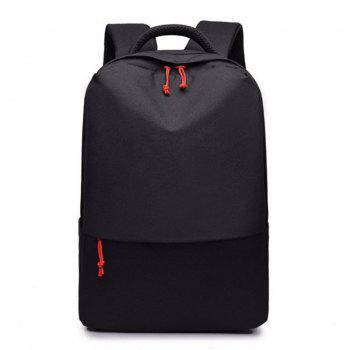 New Men's Backpack Fashion Business Sports Travel Bag - BLACK BLACK
