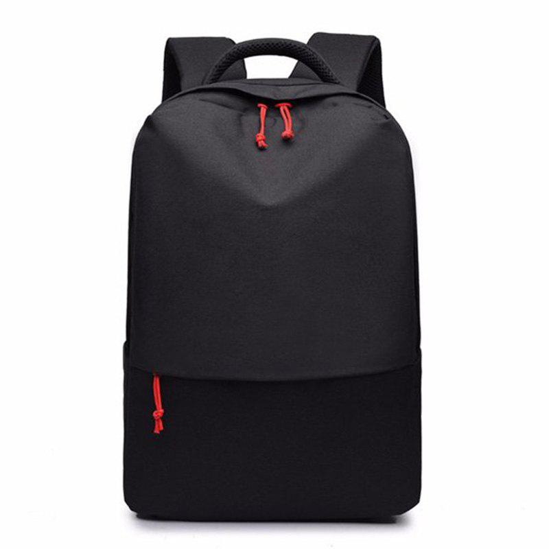 New Men's Backpack Fashion Business Sports Travel Bag - BLACK