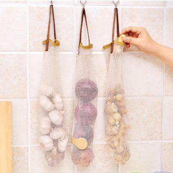 DIHE Food Storage Bag Reticular Portable Kitchen Supplies - COLORMIX