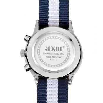 BAOGELA 1611 Man Casual Waterproof  Multifunctional Watch - SILVER