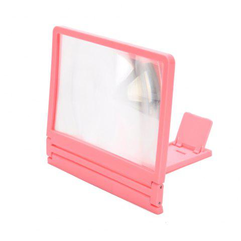 Phone Screen Magnifier HD 2X-4X Amplifying Holder - PINK
