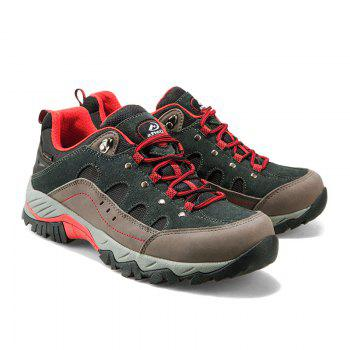 Hiking Sneakers Low-cut Sport Shoes Breathable Athletic Outdoor Shoes for Men - DARK GRAY DARK GRAY