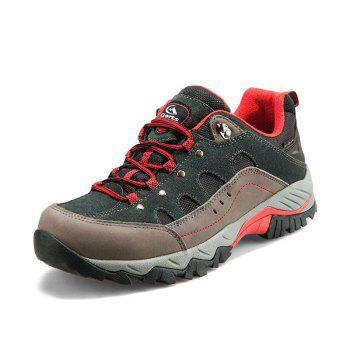 Hiking Sneakers Low-cut Sport Shoes Breathable Athletic Outdoor Shoes for Men - DARK GRAY 41