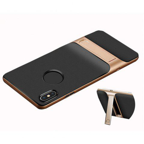 XY08 Support Hard and Soft Anti Fall Mobile Phone Shell for iPhone 8 - EARTHLY GOLD