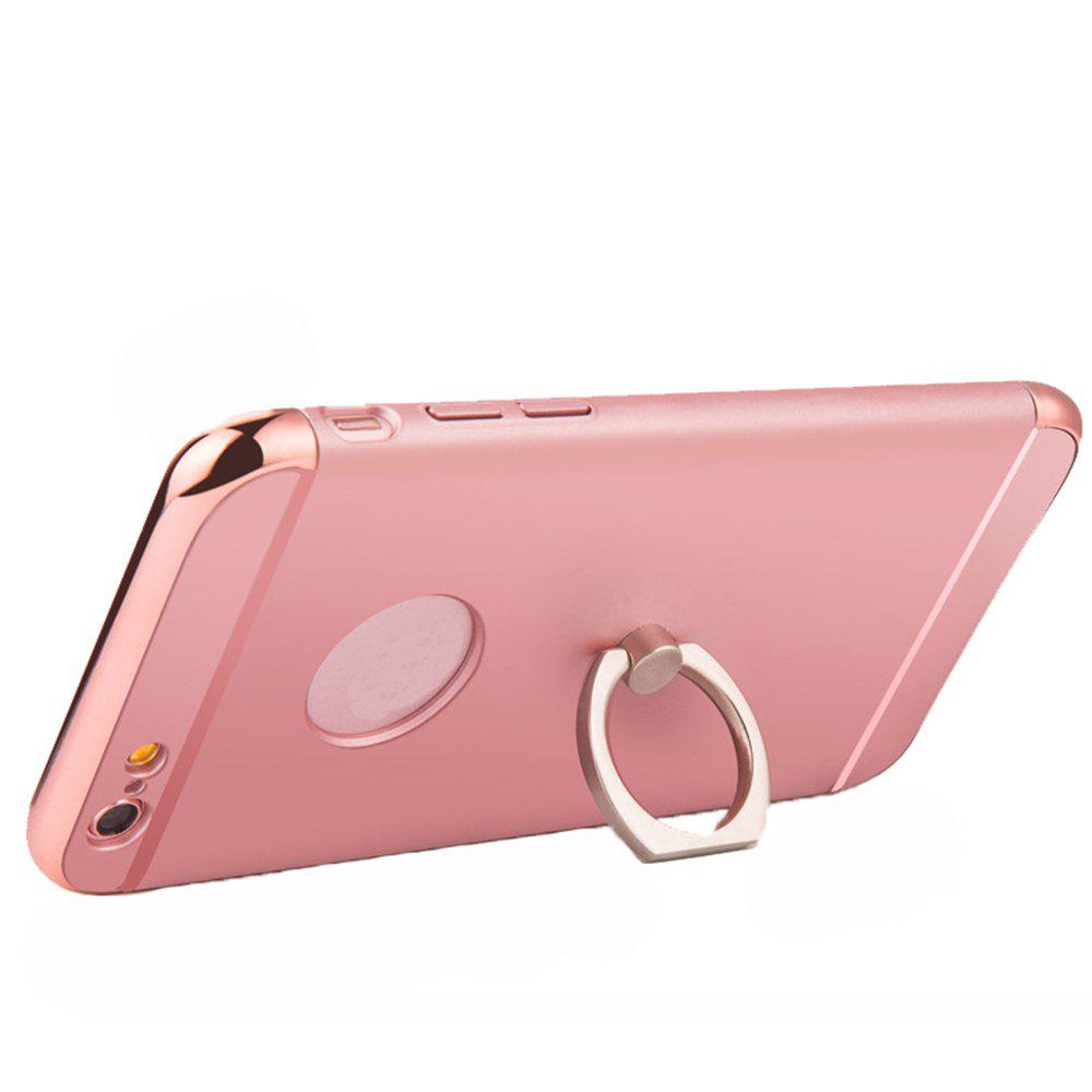 XY09 Three Segment Anti Dropping Protective Sleeve Hard Shell Belt Buckle for iPhone 8 Plus - ROSE GOLD